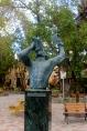 Statue in Cruz Bay